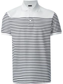 Z Zegna  - Striped Polo Shirt