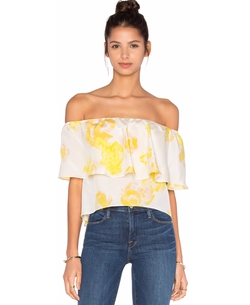 Amanda Uprichard - Kiara Off the Shoulder Top