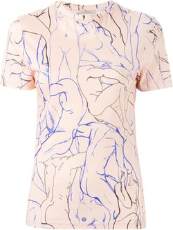 Christopher Kane - Entwined Bodies Print T-Shirt
