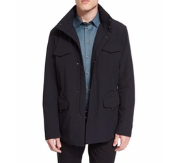 Armani Collezioni  - Snap-Front Field Jacket