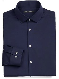 Theory  - Dover Luxe Dress Shirt