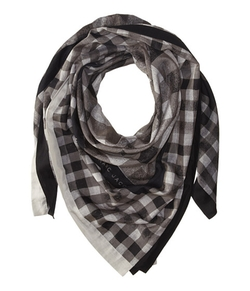 Marc by Marc Jacobs -  Tissue Plaid Scarf