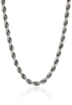 LH Men by Lois Hill - Twisted Rope Necklace
