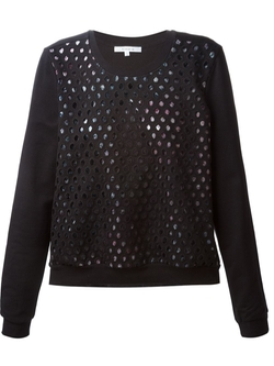 Carven   - Perforated Sweater