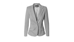 Makeitmint - Casual One Button Blazer
