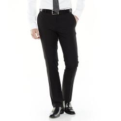Adolfo  - Slim-Fit Flat-Front Suit Pants