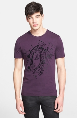 Versace Collection  - Medusa Print Graphic T-Shirt