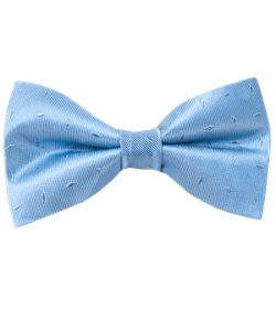 Industry Solid - Light Blue Bow Tie