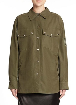 Alexander Wang  - Military Shirt Jacket