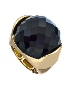 Blu Bijoux - Onyx Power Ring