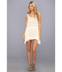 Free People  - Voile Trapeze Slip Dress