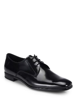 Prada  - Spazzolato Lace-Up Shoes