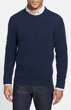 Benson - Trim Fit Cashmere Crewneck Sweater