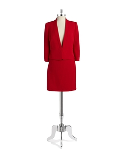 Tahari Arthur S. Levine - Two-Piece Skirt Suit