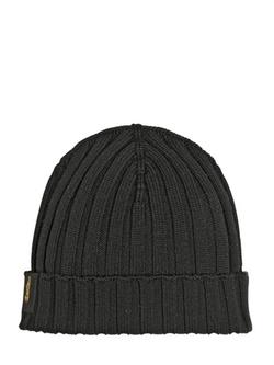Borsalino - Extra Fine Merino Wool Knit Beanie Hat
