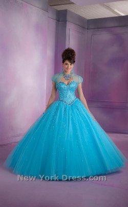 Mori Lee Vizcaya - Strapless Gorgeous Stones Ball Gown