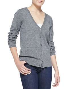 Escada  - Button-Front Cashmere Cardigan