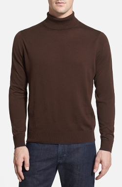Thomas Dean - Merino Wool Turtleneck Sweater