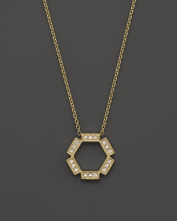 Dana Rebecca - Hexagon Necklace