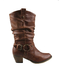 Refresh - Western Style Cowboy Boots