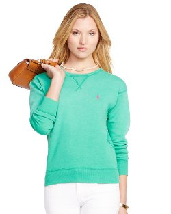 Ralph Lauren - Fleece Crewneck Sweatshirt
