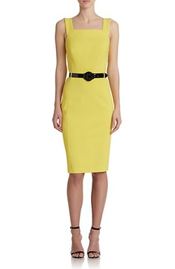 Ralph Lauren - Lucelia Belted Jersey Dress
