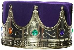 Alexanders Costumes - Lined Kings Crown