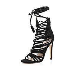 River Island - Strappy Tassel Heeled Sandals