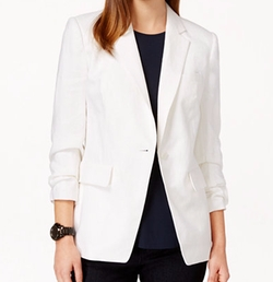 Michael Kors - Petite One-Button Blazer