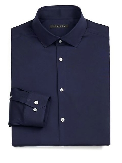 Theory  - Slim-Fit Dover Luxe Dress Shirt