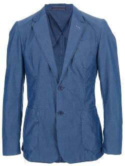 Moschino  - Denim Wash Blazer