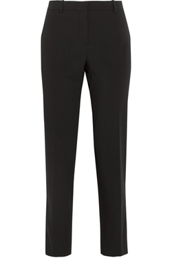 Versace  - Wool-Blend Twill Straight-Leg Pants
