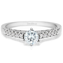 TwoBirch - Cubic Zirconia Promise Ring