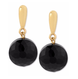 Kenneth Cole New York - Faceted Bead Drop Earrings