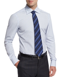 Kiton - Striped Cashmere Tie