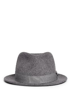 Rag & Bone   - Hackman Wool Felt Fedora Hat