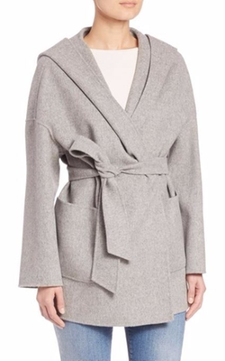 Weekend Max Mara  - Selva Short Virgin Wool Wrap Coat