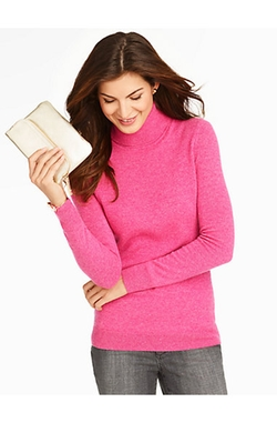 Talbots - Cashmere Turtleneck Sweater