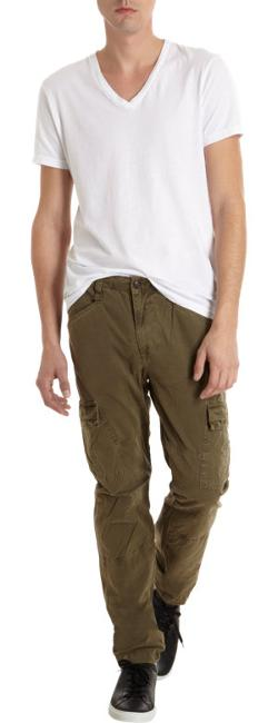 J BRAND  - Trooper Slim Cargo Pants - Navy