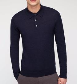 Jigsaw - Knit Polo Sweater
