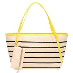 VonFon  - Bag Work Place Casual Striped Shoulder Bag