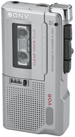Sony  - M-560V Microcassette Voice Recorder