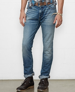 Denim & Supply Ralph Lauren  - Slouch-Fit Hirst-Wash Jeans