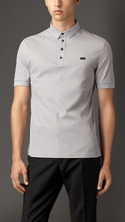 Burberry - Double-Weave Piqué Cotton Polo Shirt