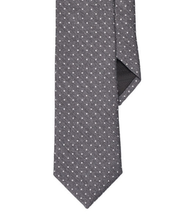 Ralph Lauren Black Label - Polka-Dot Wool-Silk Narrow Tie