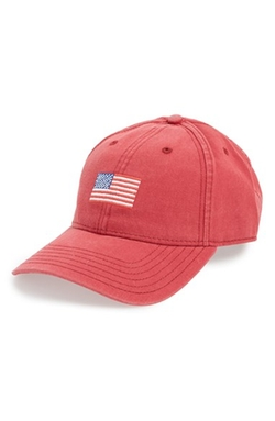 Harding-Lane  - American Flag Needlepoint Baseball Cap