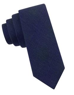 Calvin Klein - Silk-Blend Plaid Tie