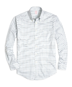 Brooks Brothers - Madison Fit Tattersall Sport Shirt
