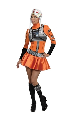 Secret Wishes - Star Wars Female X-Wing Fighter Costume
