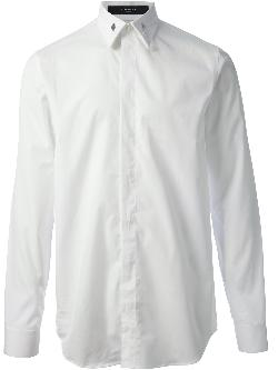 GIVENCHY  - collar tab detail shirt
